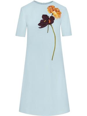 Floral Embroidered Day Dress