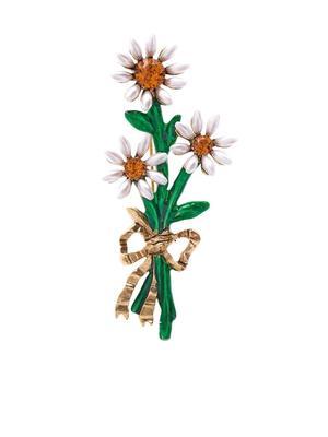 Crystal Bouquet Brooch