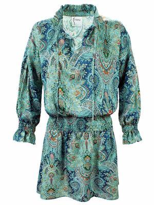 Elizabeth Paisley Dress