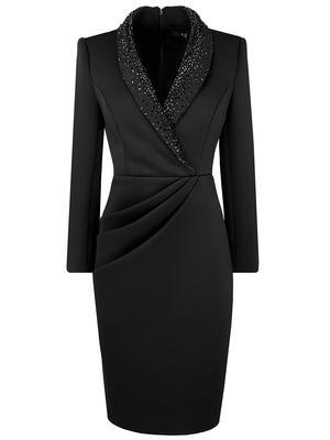 Faux Wrap Cocktail Dress