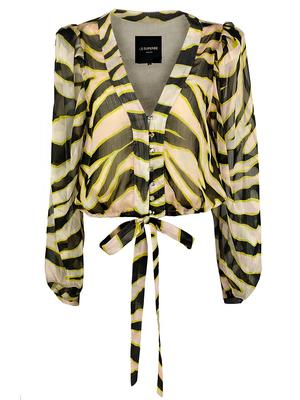 Get Ready Zebra Blouse