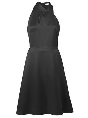 Tiffany Hammered Satin Mini Dress