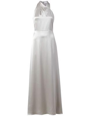 Taryn Hammered Satin Dress
