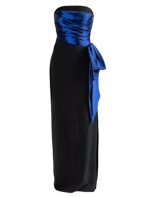 Moira Stretch Crepe Gown