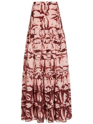 Pauletta Printed Maxi Skirt