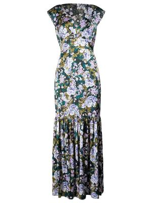 Aria Silk Satin Dress