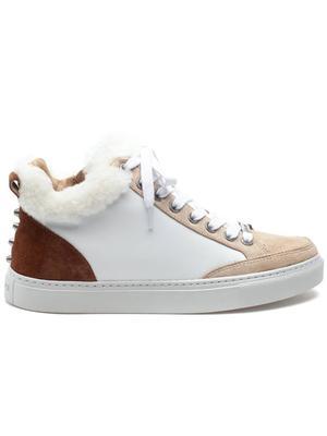 Leslie Shearling Trim Sneaker