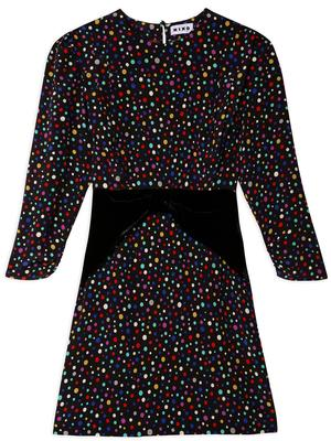 Fifi Polka Dot Mini Dress
