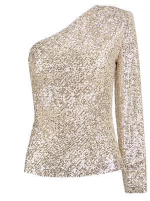 Over the Mood Sequin Top