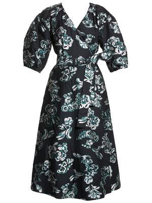 Lida Printed Midi Dress