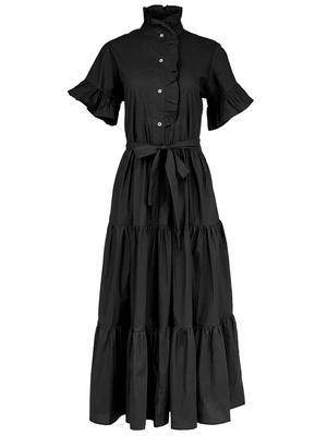 Victoria Tiered Ruffled Dress