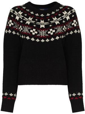 Fair Isle Printed Sweater
