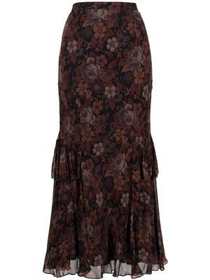 Landon Floral Maxi Skirt