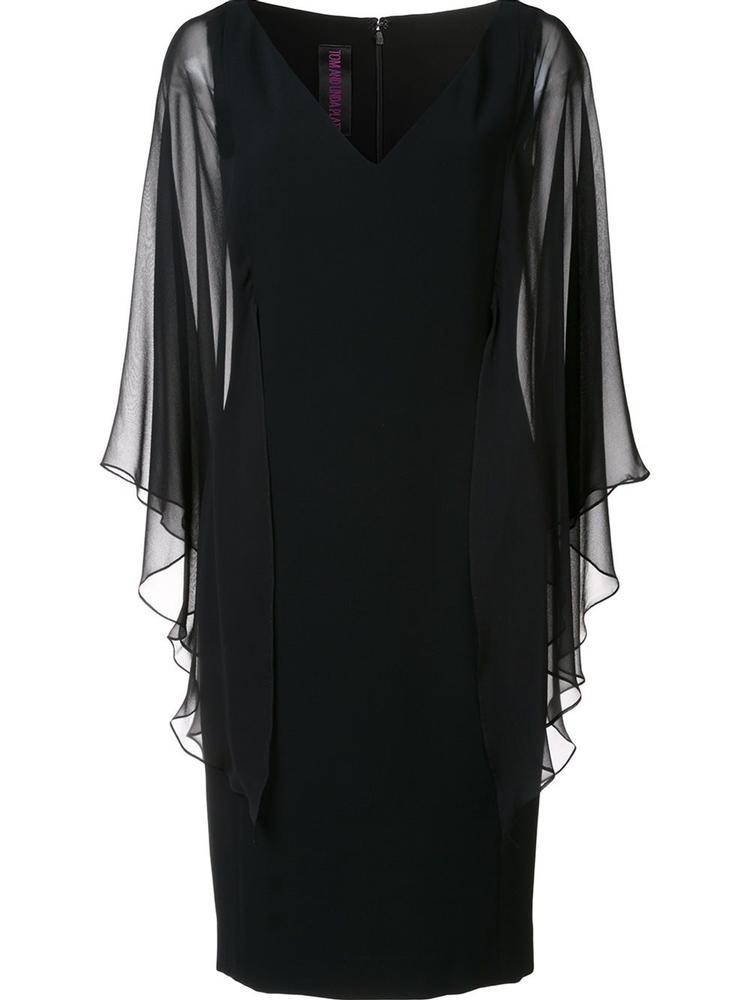 Chiffon Sleeve Butterfly Dress Item # 9334