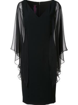 Chiffon Sleeve Butterfly Dress