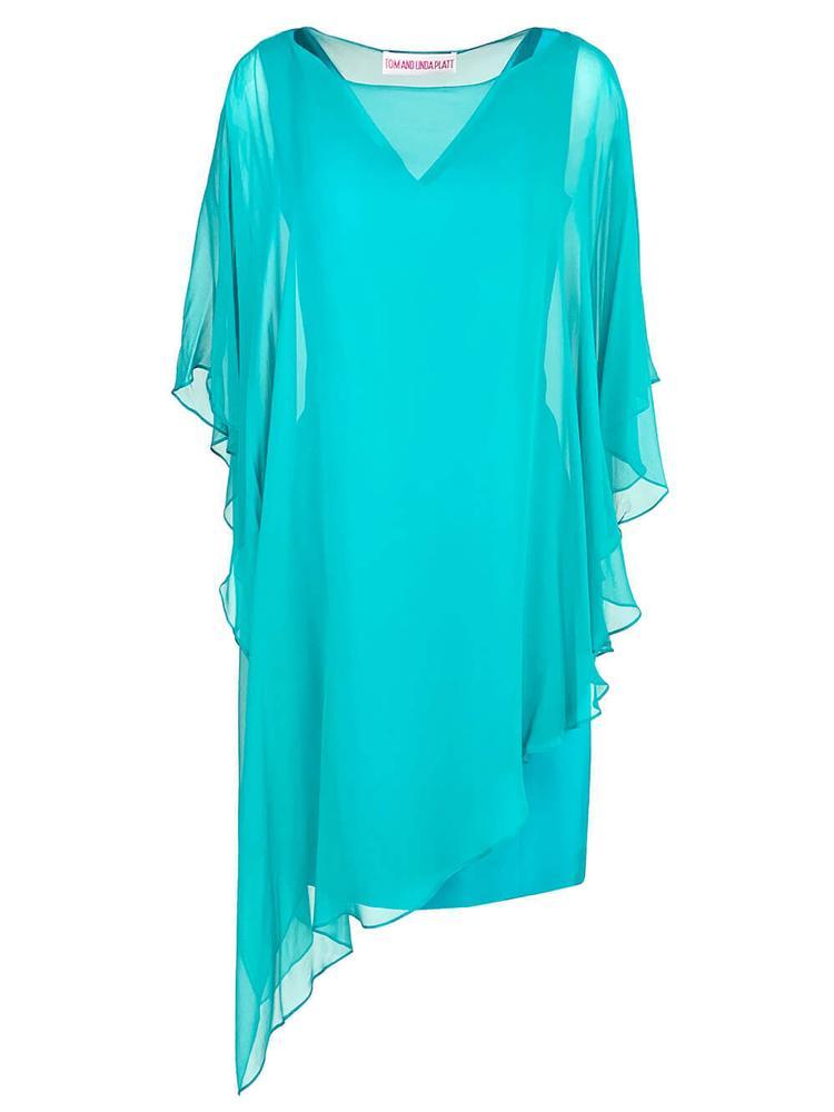 Chiffon Overlay Dress Item # 8061/8060