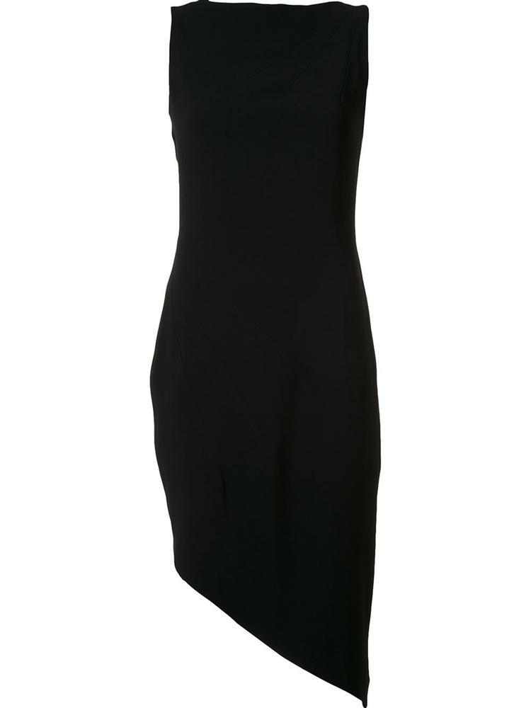 Asymmetrical Hem Cocktail Dress Item # 8012