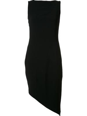 Asymmetrical Hem Cocktail Dress