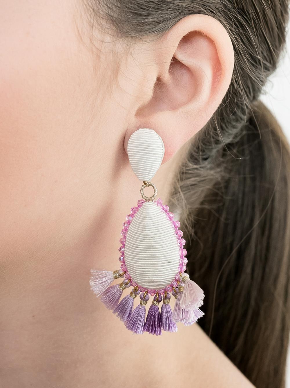 White/Lilac